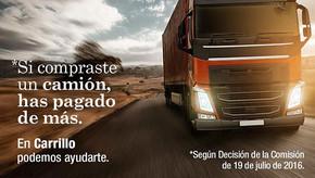Reclamación al cártel de camiones – Lorca