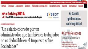 #CarrilloResponde | ADMINISTRADOR E IMPUESTO DE SOCIEDADES