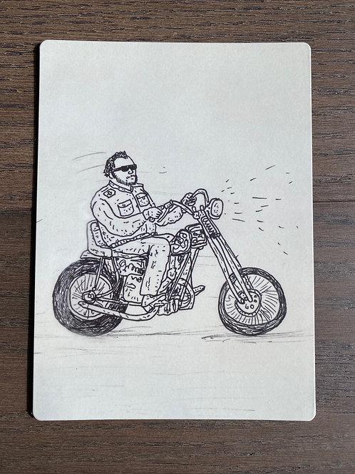 Motorcycle Man - Magnet