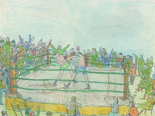 Boxing_ Signed Print - Ltd Edition