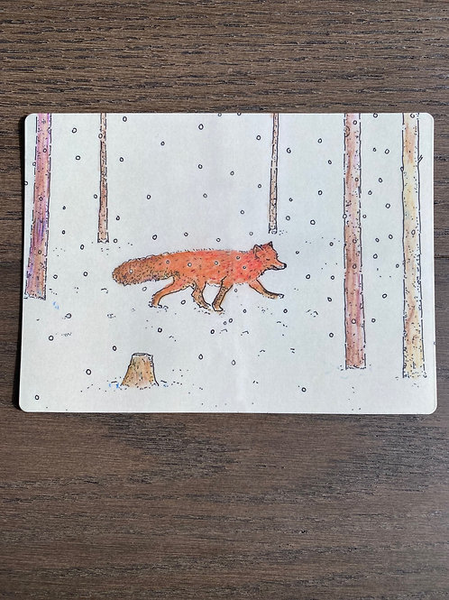 The Fox - Magnet