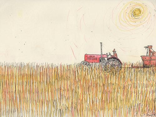 Farming_ Signed Print - Ltd Edition