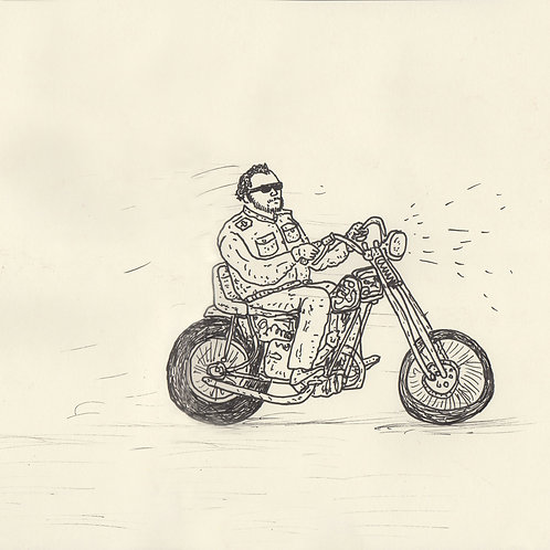 Motorcycle_ Signed Print - Ltd Edition
