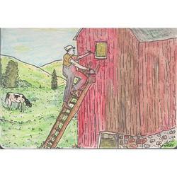 Sunday - Paint the barn 🐄 . . . . . . .