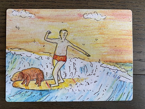 Surfing  USA- Magnet
