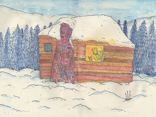 The Cabin  - Signed Print - Ltd Edition