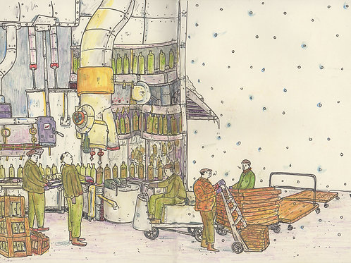 Brewery Workers_ Signed Print - Ltd Edition