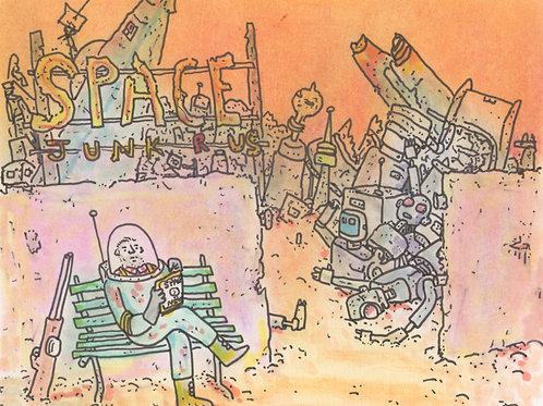 Space Junk R Us_ Signed Print - Ltd Edition