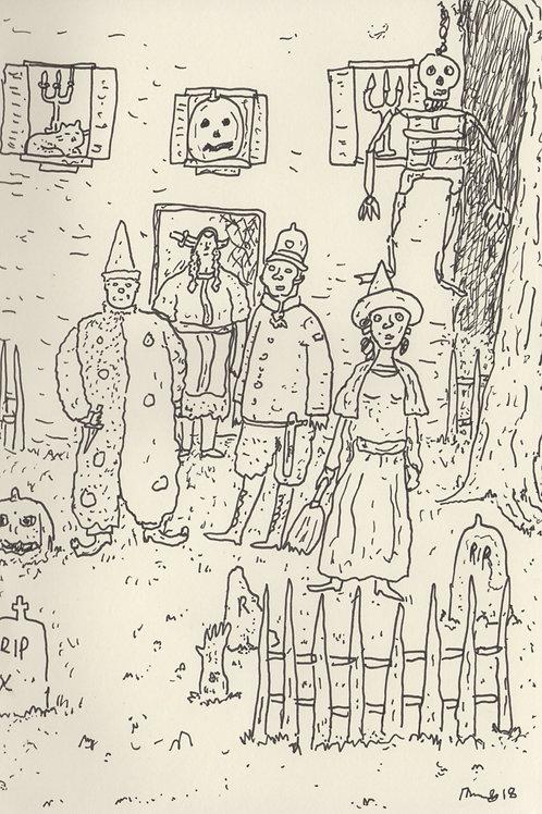 Halloween Day_ Signed Print - Ltd Edition
