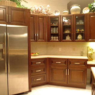 Custom wood kitchen