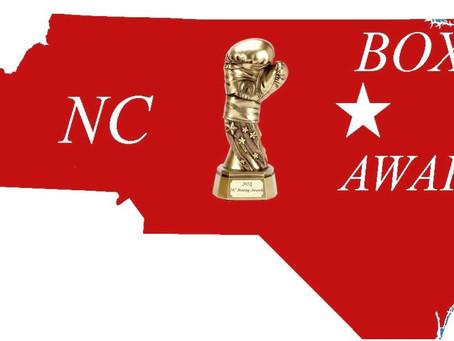Nominees For 2018 cboxinginfo.com North Carolina Boxing Awards