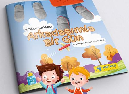 """Çocuklara Otizmi Anlatan Kitap """"Arkadaşımla Bir Gün"""""""