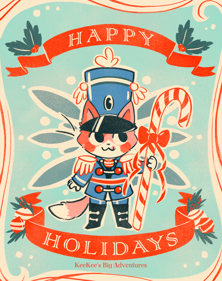 KeeKee Christmas Card