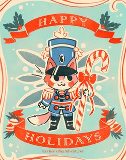 KeeKee Christmas Card
