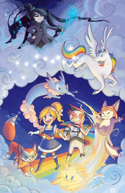 Rainbow Brite Reboot Promo Poster