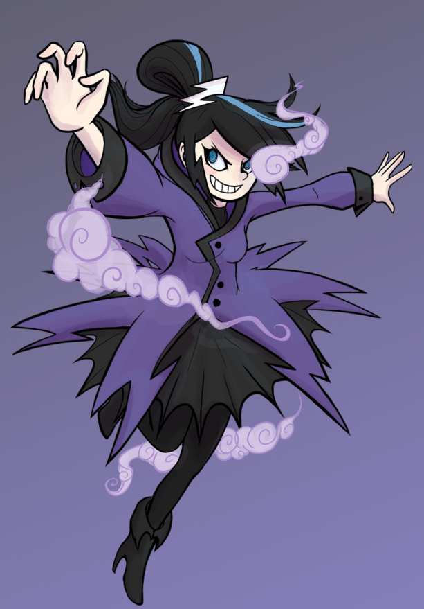 Stormy Nite Character Concept