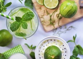 Limão e açúcar, uma boa combinação!