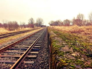 Você pegou o trem ou ficou para trás?