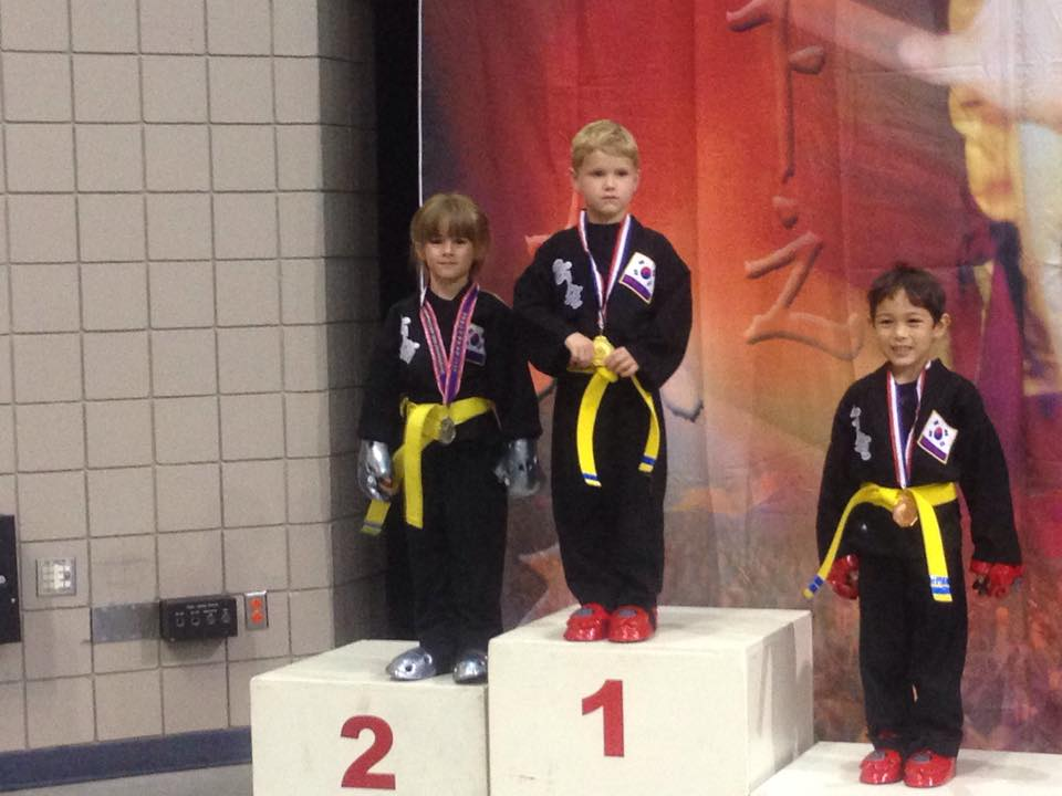 Kids Sparring Competition