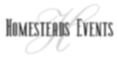 Homesteads Events logo for White.png