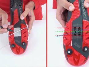 Consejos para colocar las calas en las zapatillas