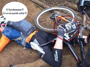 """Causas de caídas tontas en bici: """"los pedales automáticos"""""""