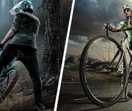 diferencias entre ciclismo de montaña y carretera