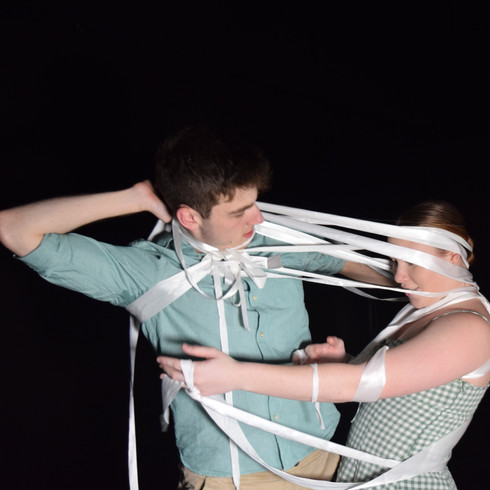 Performers Lachlan Doherty & Emily Bartlett