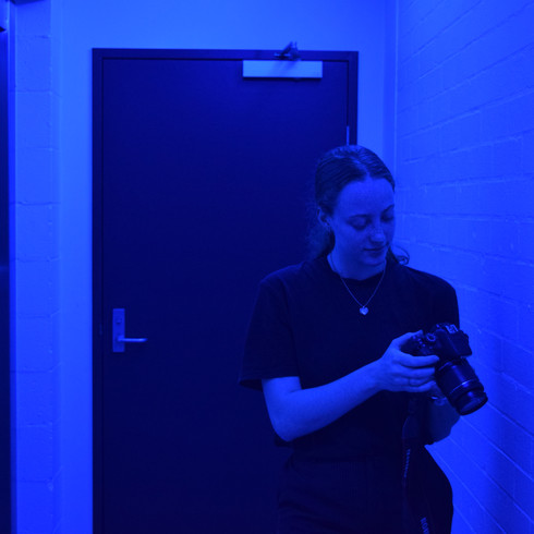 Rebecca Checking Footage