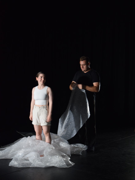 Performers Anthony Mchale and Sophie Roberts