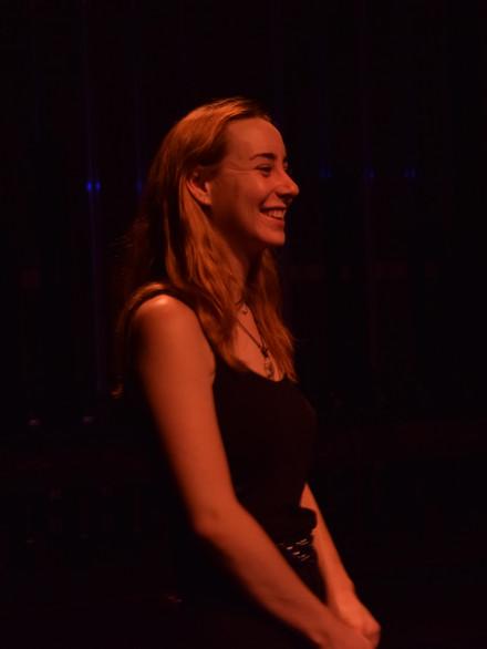 Phoebe Creagh Watching Rehearsal