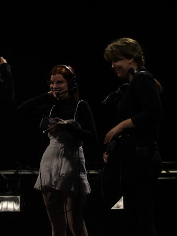 Jodie, Jasmine and Kelly in conversation