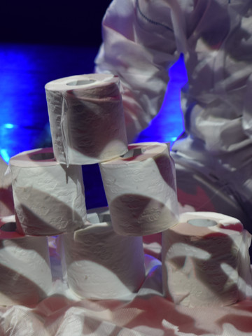 Toilet Paper Stacking