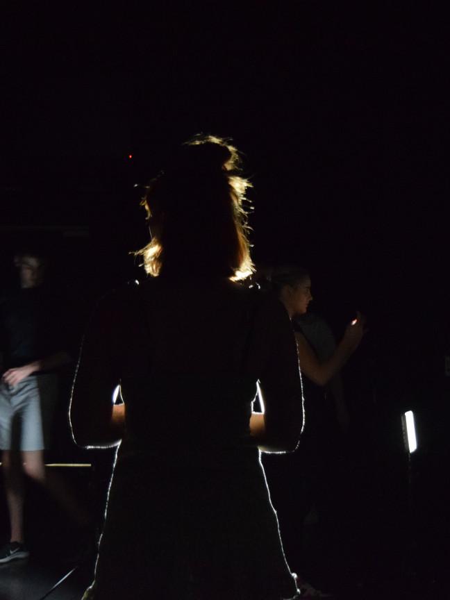 Kirrah Jobst Watching Rehearsal