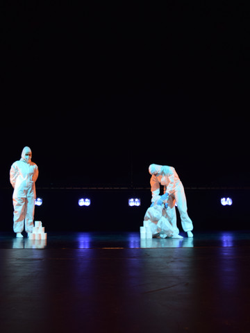 Performers on Stage