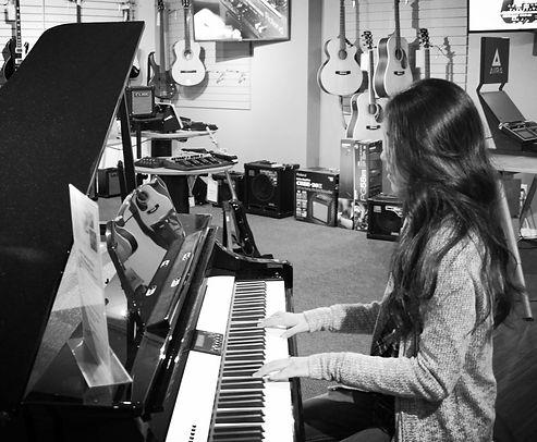 Nozomi Lyn Piano Lesson
