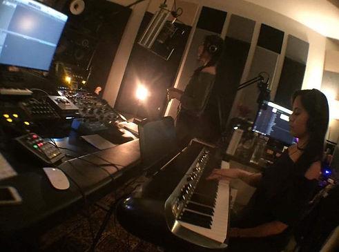 Nozomi Lyn StudioRecording