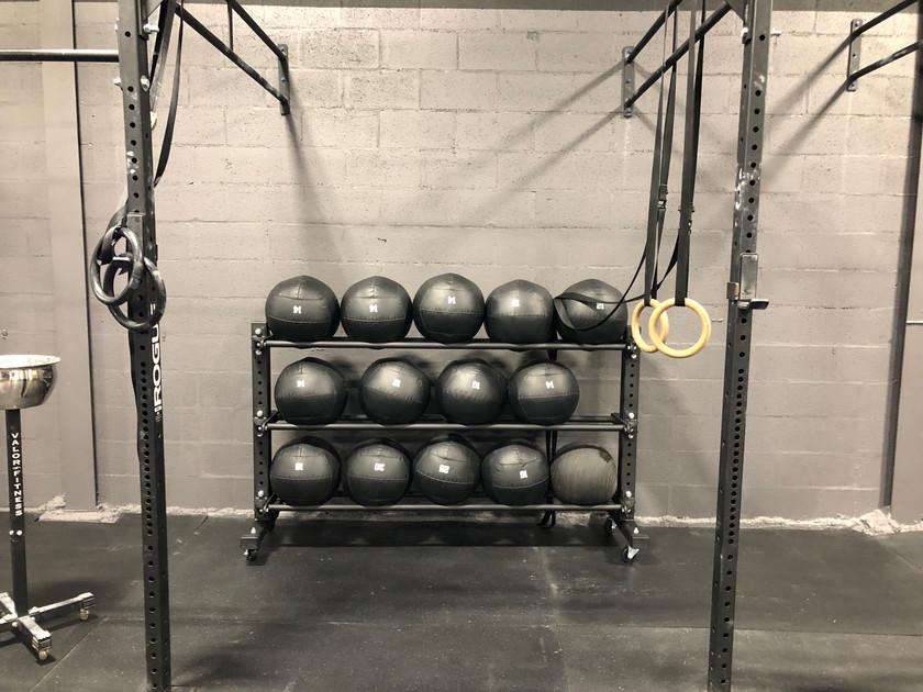 Wall Ball Rack