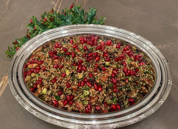 Salada de Grãos com Romã