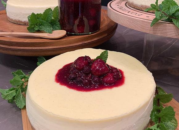 Cheesecake com Calda