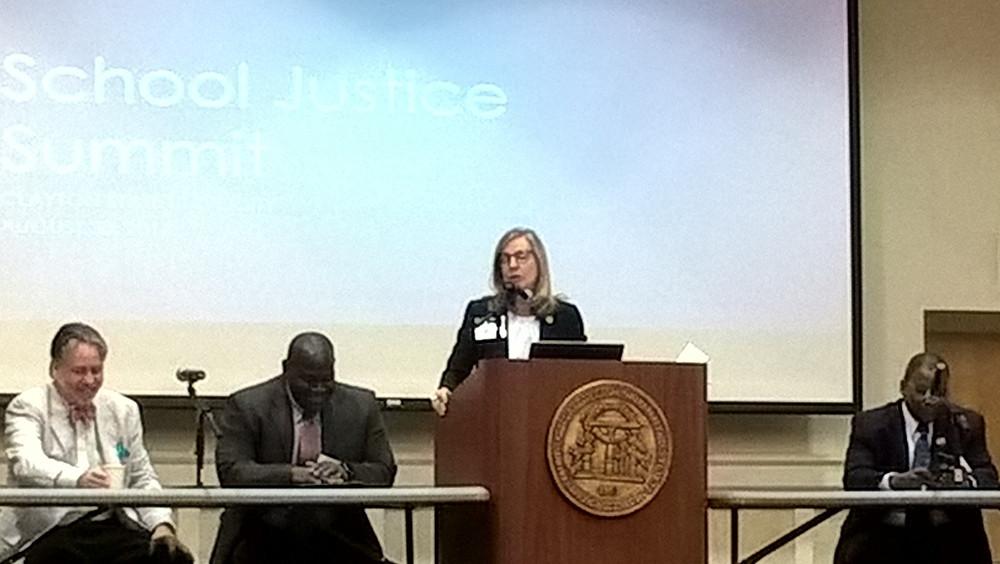 School Justice Partnership Sherri Jefferson Judge Steve Teske
