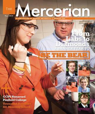 """Sherri Jefferson Appears in Mercer University's """"The Mercerian"""""""