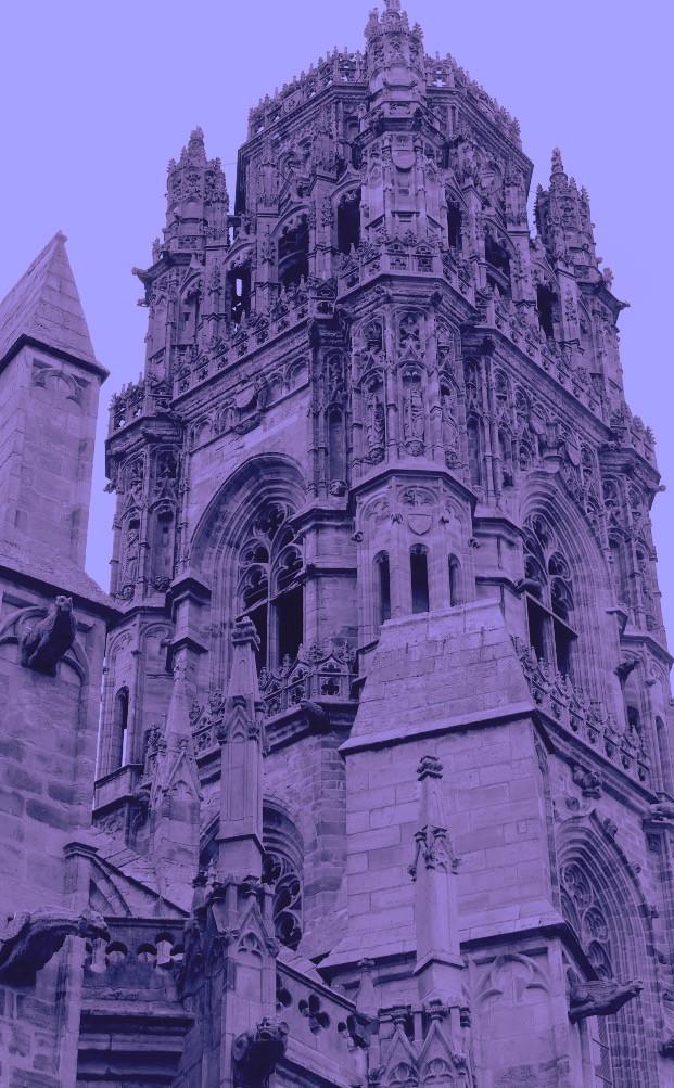 clocher de la cathédrale de Rodez
