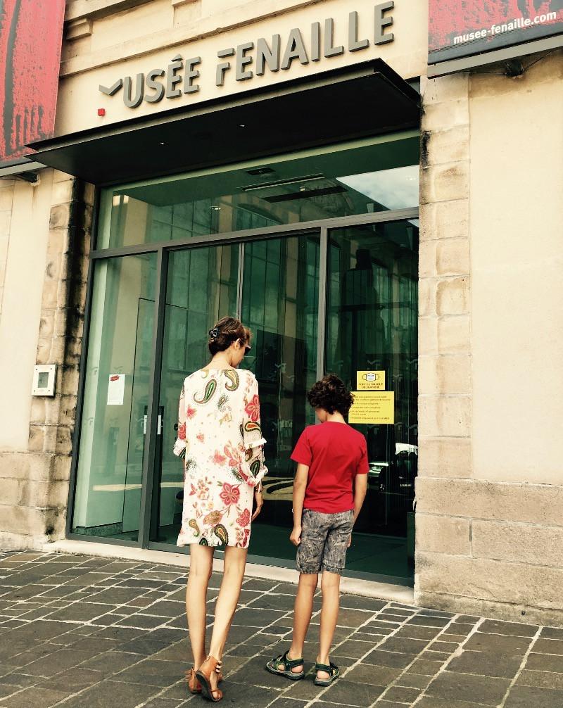 Entrée du musée Fenaille Rodez