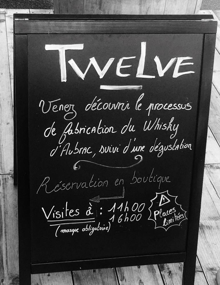 affiche twelve whisky