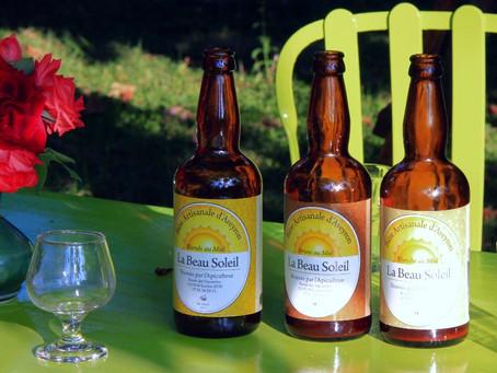 La Beau Soleil: bière artisanale