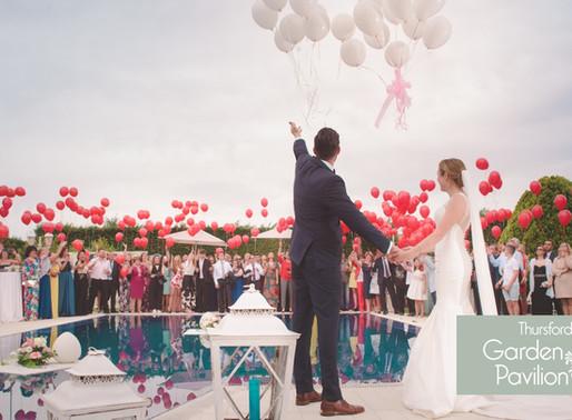 8 Reasons You'll Love The Thursford Garden Pavilion Wedding Fair