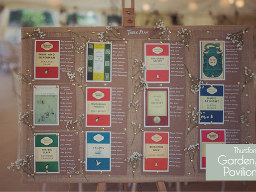 9 Cute & Creative Ways To Display Your Wedding Table Plan