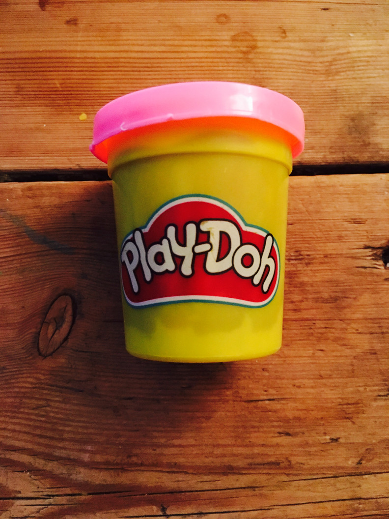 kids say the darnedest things. (oh, and they love playdoh).