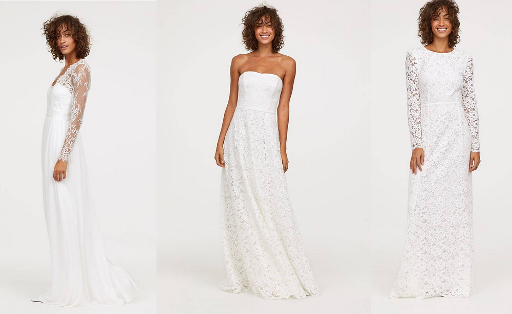 Best High Street Wedding Dresses H&M